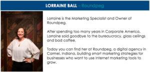 Lorraine Ball Speaker Header