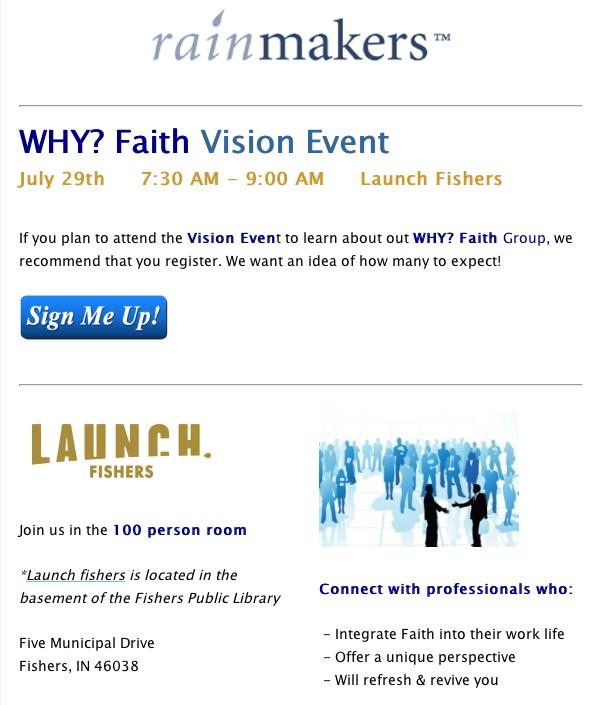 WHY_ Faith Email Blast