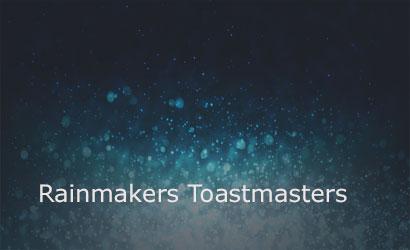Rainmakers Toastmasters Club